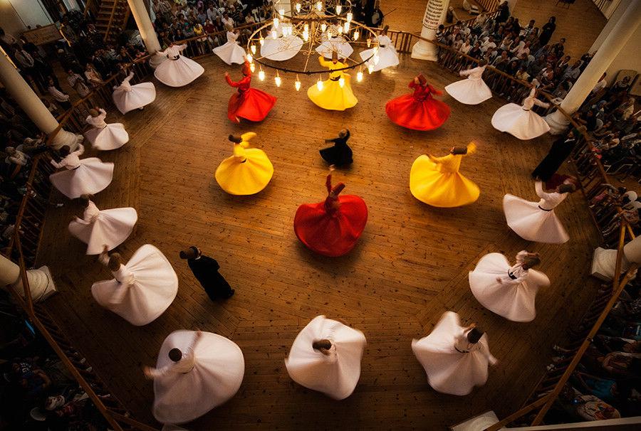 Sema节 摄于 土耳其 盖利博卢半岛 作者 Ahmet Cetintas