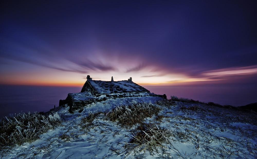 冰雪武功山,拍摄于江西萍乡武功山。 作者 superbug