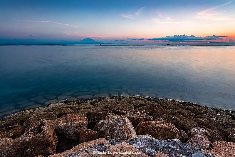 巴厘岛的黎明