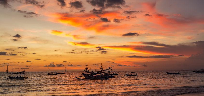 世界上最美十大日落之一 —— Jimbaran Bay日落
